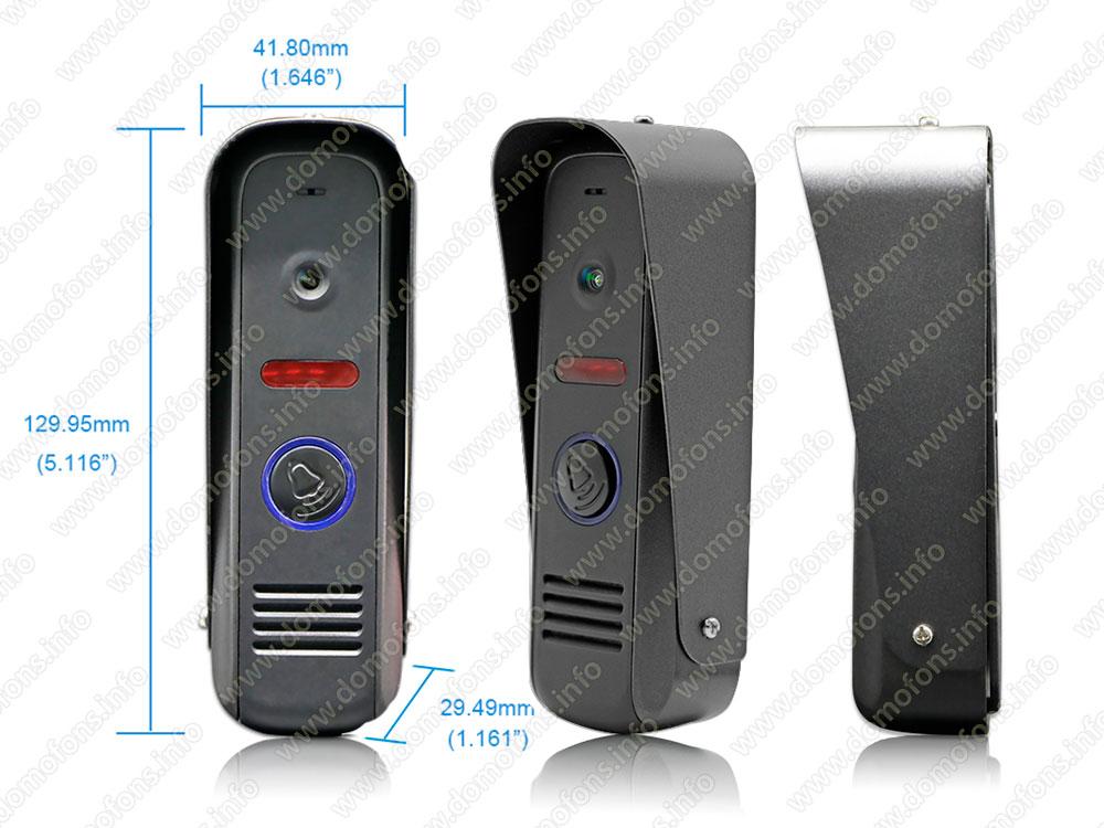 вызывная панель видеодомофона с камерой
