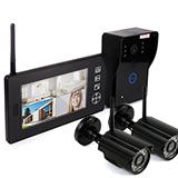 Беспроводной видеодомофон Skynet VD-802 2 камеры
