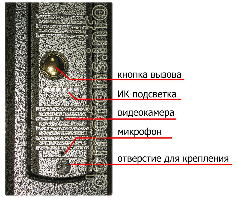 commax cdv 70a vizit инструкция