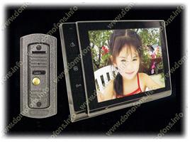 цветной видеодомофон 8 дюймов